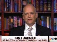 "Wednesday on MSNBC's ""Morning Joe,"" National Journal's Ron Fournier discussed …"