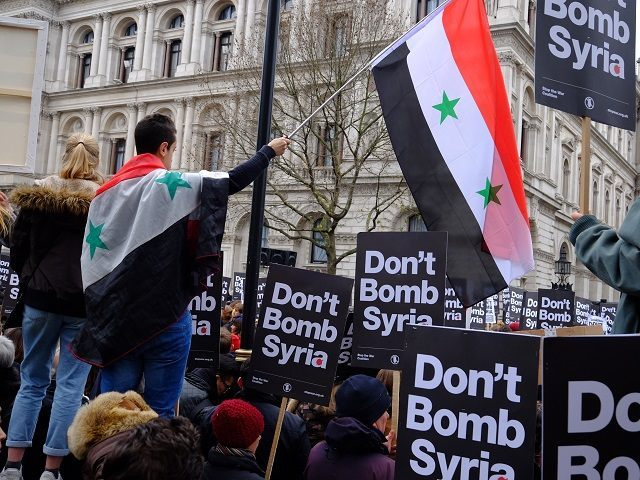 Syria Airstrikes: 'Thousands' joined a march on Westminster today to …