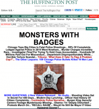 War on Cops: HuffPo Thanksgiving Front Page Stokes Flames of Chicago Protests