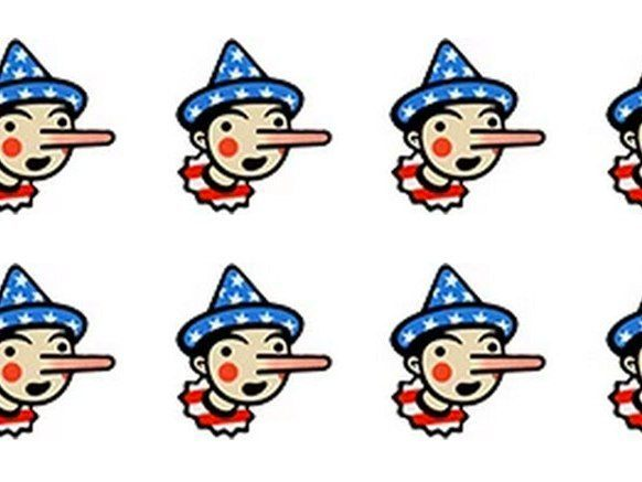 By awarding Democrat Hillary Clinton only two Pinocchios for her …