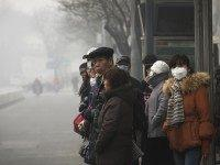 Chinese Cities Covered in Smog for Days