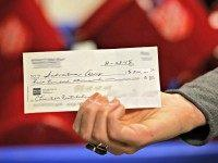 $500,000 check Salvation Army