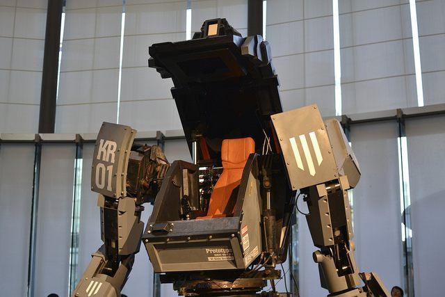 Kuratas giant robot (Kazuyoshi Kato / Flickr / CC)