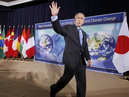 Politico Trolls for Paris Climate Talks, 'Praises' George W. Bush