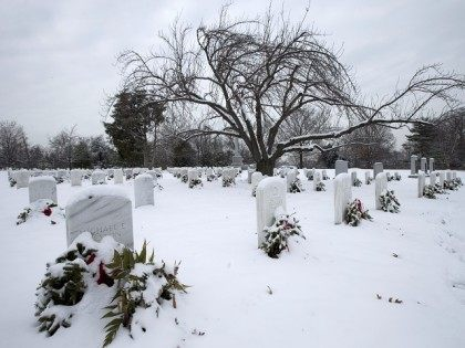 18K Headstones Still Need Holiday Wreaths at 'Forgotten' Arlington Cemetery