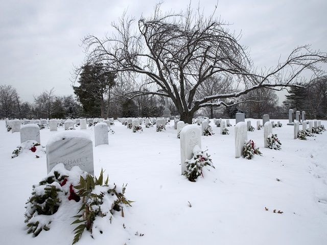 Thousands of Graves at Arlington Cemetery May Forgo Wreaths Due to Lack of Funding