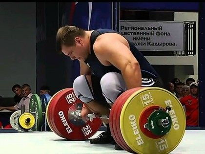 Weightlifter Sets World Record: 'This Shows That Russia Is the Strongest Nation'