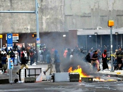 Baltimore Riots and Looting AP