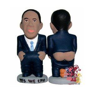 Barack Obama Caganer figurine - caganer.com