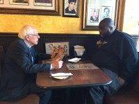 Rapper Killer Mike Dines with Bernie Sanders in Atlanta