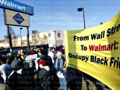 Black Friday Walmart Protest AP
