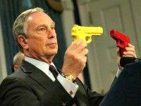 Bloomberg with Toy Guns AP