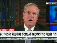 Jeb: U.S. Combat Troops May Be Required to 'Inspire' Int'l Effort Against Islamic State