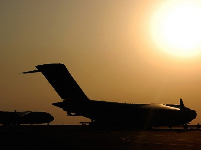 C-17 sunset (DVIDSHUB / Flickr / Cropped / CC)