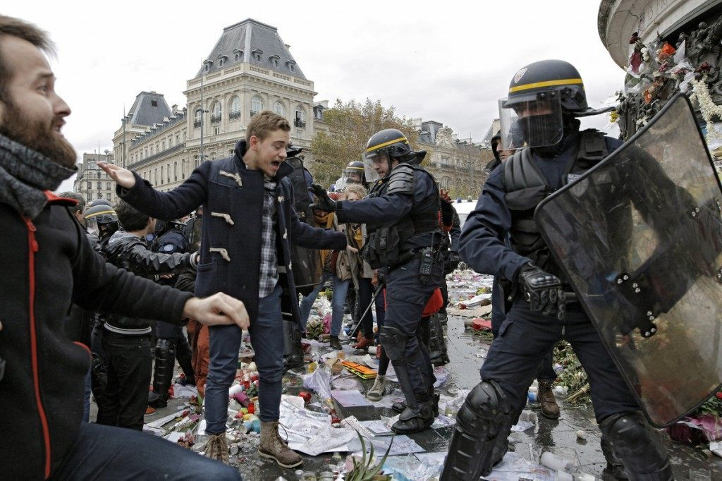 COP21 Protest Paris Associated Press 2
