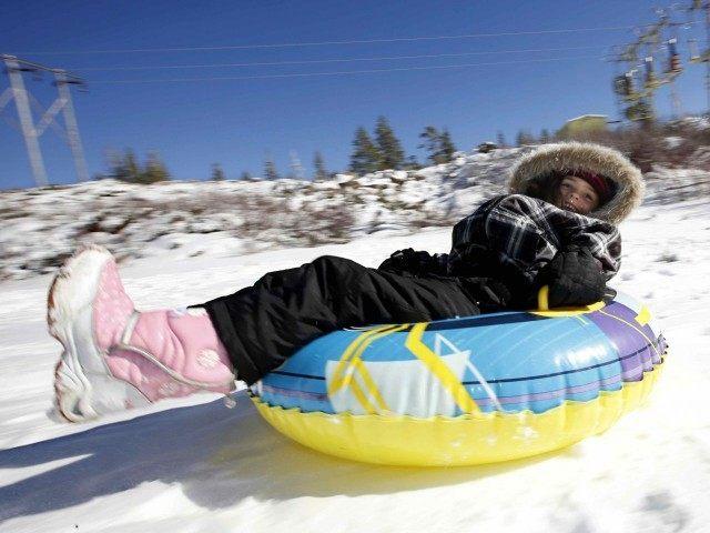 California snow (Rich Pedroncelli / Associated Press)