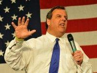 Republican presidential candidate and New Jersey Gov. Chris Christie, speaks at the Growth and Opportunity Party, at the Iowa State Fair in Des Moines, Iowa, Saturday October 31, 2015. With just 93 days before the Iowa caucuses Republican hopefuls are trying to shore up support amongst the party. (Photo by …