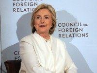 Former Secretary of State Hillary Clinton takes questions after delivering a speech on her approach to defeating the Islamic State terrorist network in Syria, Iraq and across the Middle East at the Council on Foreign Relations on November 19, 2015 in New York City. In the wake of the Paris attacks, for which ISIS has claimed responsibility, the Democratic front-runner for president called for more allied planes and more airstrikes on ISIS as well as an increase in U.S. Special Operations forces and trainers working with regional forces