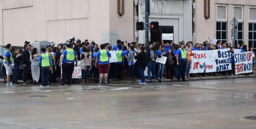 United We Dream protest in Houston, Texas. (Photo: Breitbart Texas/Bob Price)