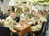 PHOTOS: America's Troops Celebrate Thanksgiving Worldwide