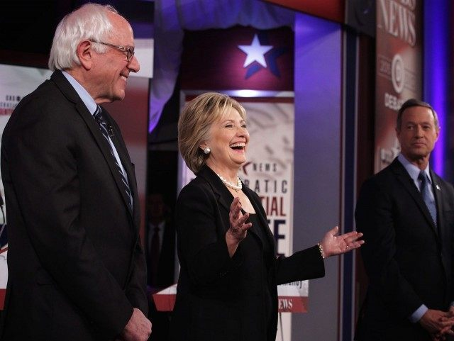 Dem Debate Iowa (Alex Wong / Getty)