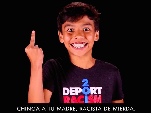 Deport Racism video (Screenshot / DeportRacism.com)