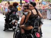 Dykes on Bikes (goingforfun / Flickr / CC / Cropped)