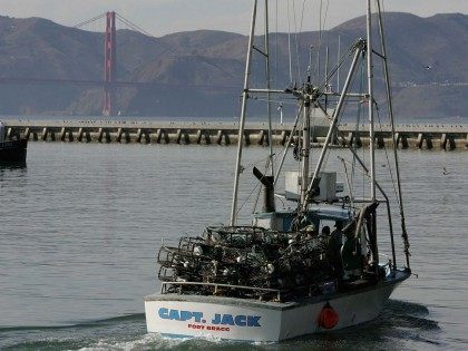 Fishing vessel San Francisco (Justin Sullivan / Getty)