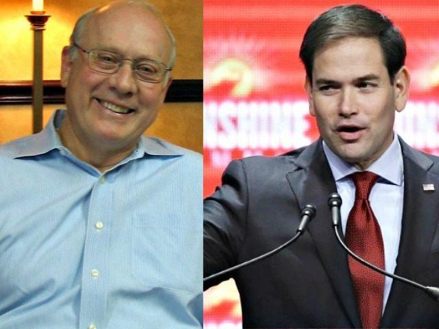 Frank VanderSloot (L) and Marco Rubio AP Photos