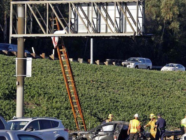 Freeway death (Associated Press)