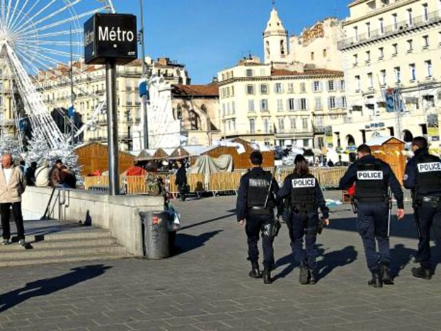 French police patrol in Marseille AFP
