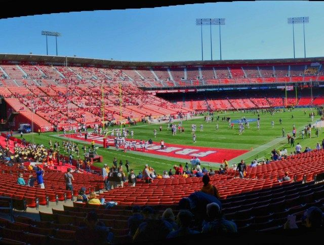 Fresno State football (John Martinez Pavliga / Flickr / CC / Cropped)