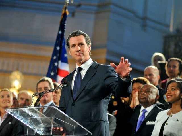 Watch: Gavin Newsom Promoted in First-Grade Textbook
