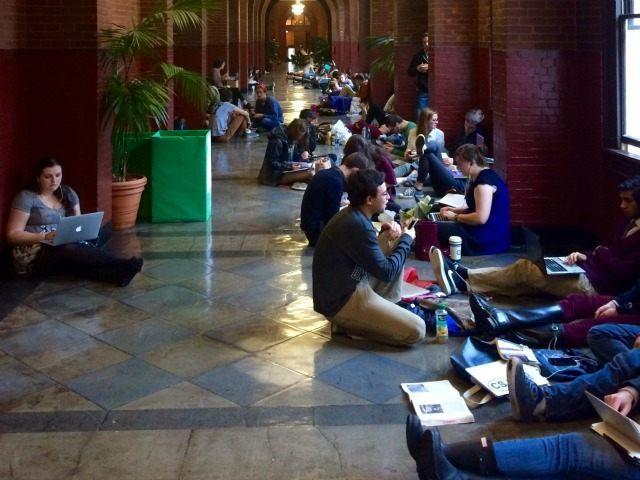 Georgetown students