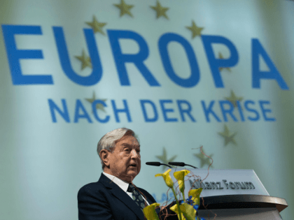 Soros Admits Involvement In Migrant Crisis: 'National Borders Are The Obstacle'