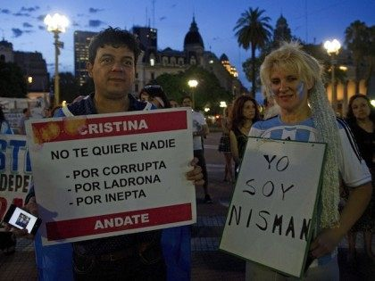 ARGENTINA-ISRAEL-IRAN-NISMAN-DEMO