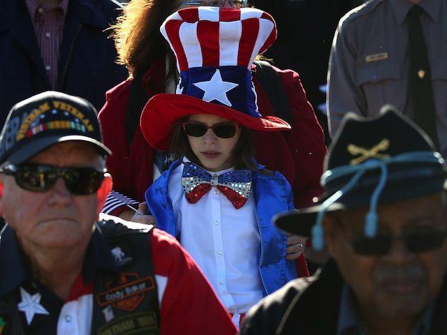 Veterans Day Commemoration Held At National World War II Memorial In DC
