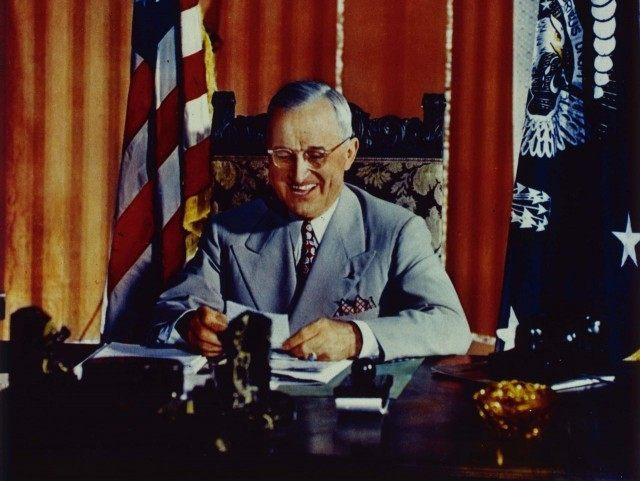 Harry S. Truman (Hulton Archive / Getty)