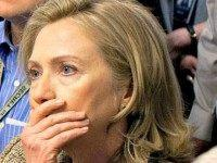 Hillary aghast WH Photo