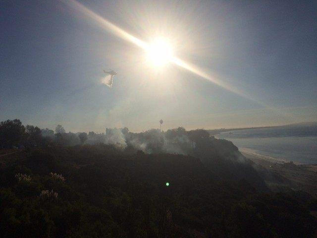 Palisades fire (Jon Kahn / Breitbart News)