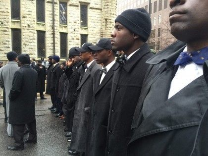 Nation of Islam in Chicago (Lee Stranahan / Breitbart News)
