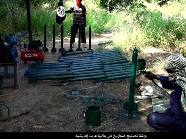 Image result for Boko haram ROCKETS