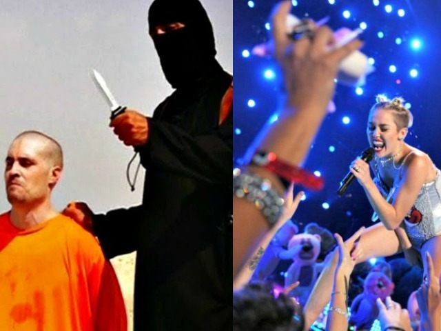 ISIS beheading Reuters and Miley Sirus AP