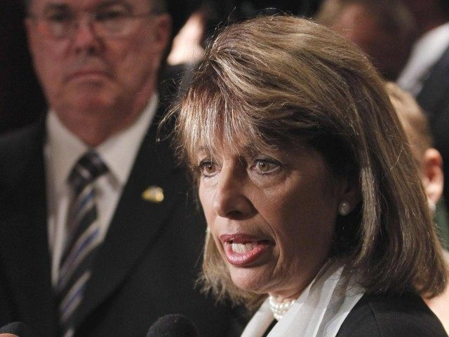 Jackie Speier (Charles Dharapak / Associated Press)