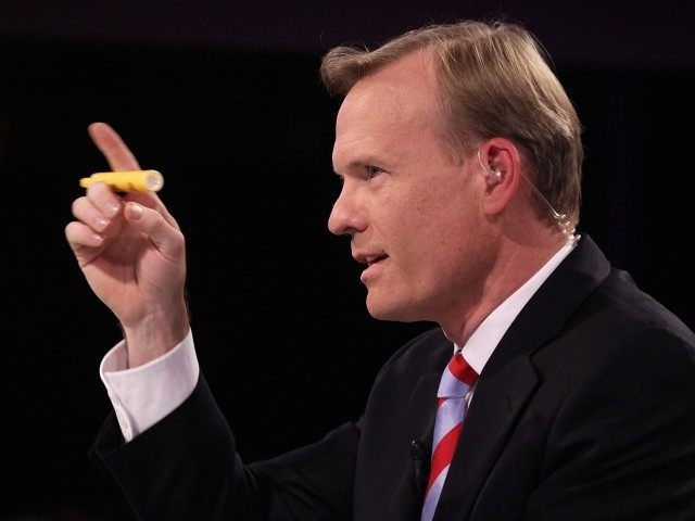John Dickerson Moderator at Dem debate (Alex Wong / Getty)