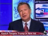Kasich: 80 Percent of Republicans Don't Support 'Outrageous,' 'Divisive' Trump