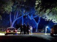 Judge shooting in Austin - Crime Scene - Crime Scene Photo Jay Janner-AP-AAS