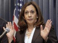 Kamala Harris hands (Nick Ut / Associated Press)