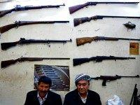 Kurdish gun shop