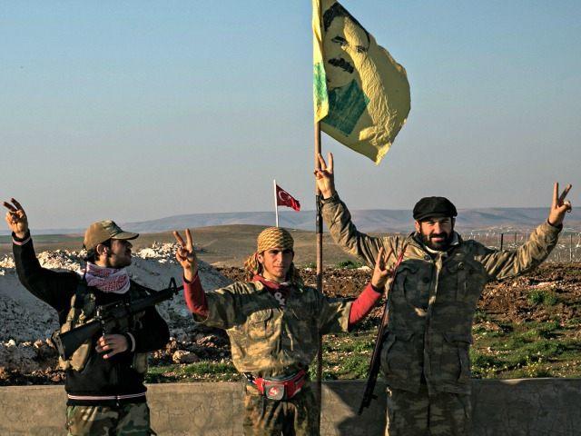 Kurdish Militia in Syria Mursel CobanAP